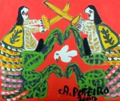 AP-014 - Antônio Poteiro - Peruada - OST - 25 X 30 cm