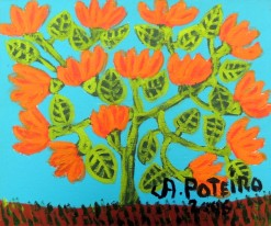 AP-016 - Antônio Poteiro - Flores do Cerrado I - OST - 25 X 30 cm